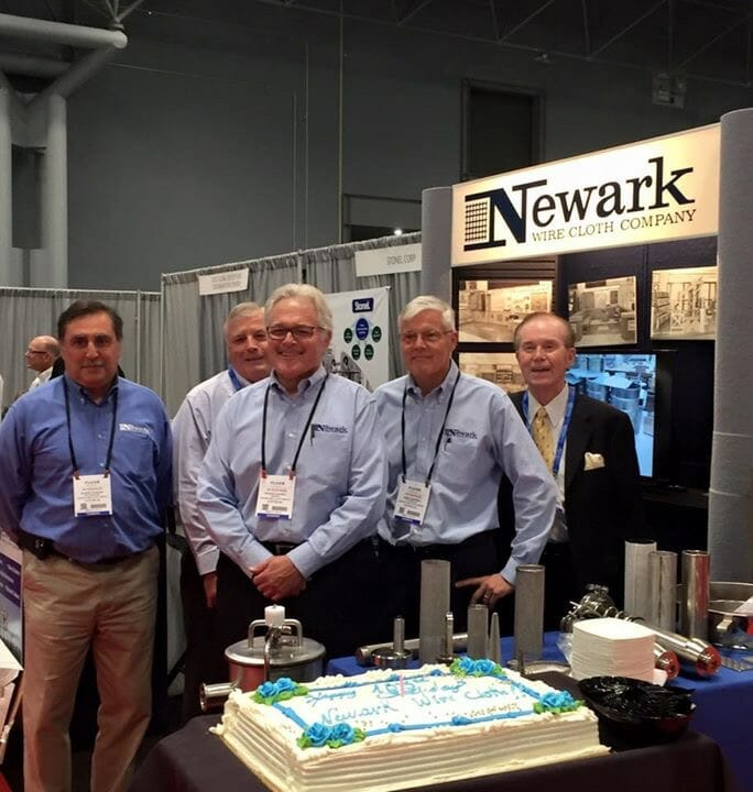 Newark Wire Cloth Company Celebrate 105th Anniversary at Interphex