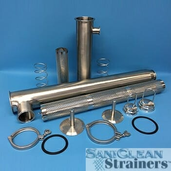 Replacement Parts (Side Inlet Strainers)