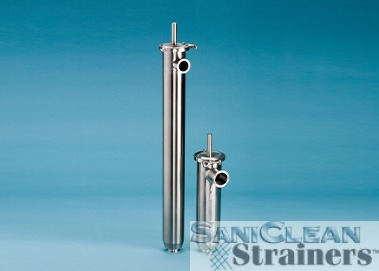 SANICLEAN SIDE INLET STRAINERS