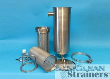 Saniclean HIGH CAPACITY BASKET STRAINERS